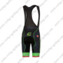 2017 Team Cannondale drapac Riding Bib Shorts Botoms Black Green