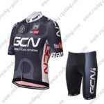 2017 Team GCN Santini Cycle Kit Black