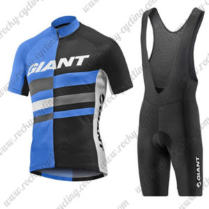 2017 Team GIANT Riding Bib Kit Blue Black
