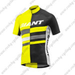 2017 Team GIANT Riding Jersey Maillot Shirt Yellow Black