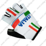 2017 Team ITALIA Cycling Gloves White Red Green