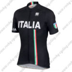 2017 Team ITALIA Sportful Biking Jersey Maillot Shirt Kit Black