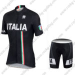 2017 Team ITALIA Sportful Riding Kit Black