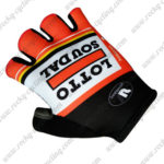 2017 Team LOTTO SOUDAL Cycling Gloves Red White Black