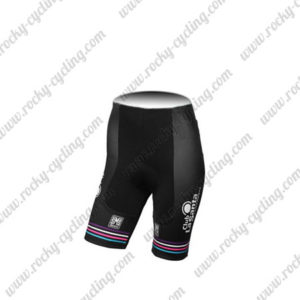 2017 Team Podium Ambition Santini Womens Lady Cycle Shorts Bottoms Pink Black