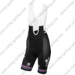 2017 Team Podium Ambition Santini Womens Lady Riding Bib Shorts Bottoms Pink Black