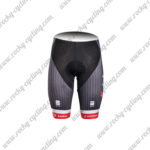 2017 Team TREK Segagredo Biking Shorts Bottoms Black Red