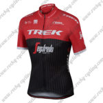 2017 Team TREK Segagredo Cycling Jersey Maillot Shirt Red Black