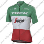 2017 Team TREK Segagredo Italy Champion Cycling Jersey Maillot Shirt Green Red