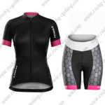 2017 Team TREK Womens Lady Cycling Kit Black Pink