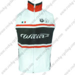 2017 Team Wie Cycling Vest Sleeveless Waistcoat Rain-proof Windbreak White Black