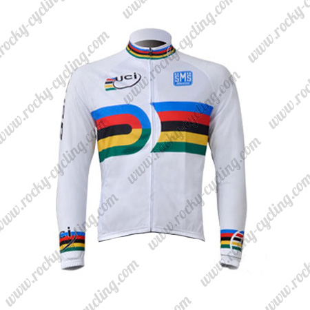 2010 Team Santini UCI Champion Cycle Wear Riding Long Sleeves Jersey ... e06deb6fe