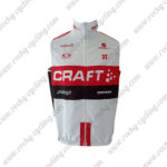 2016 Team CRAFT Cycling Vest Sleeveless Waistcoat Rain-proof Windbreak White Red Black