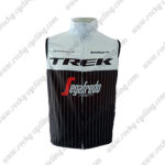 2016 Team TREK Segafredo Riding Vest Sleeveless Waistcoat Rain-proof Windbreak White Black