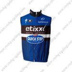 2016 Team etixxl QUICK STEP Cycling Vest Sleeveless Waistcoat Rain-proof Windbre