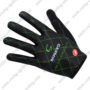 2017 Team Cannondale Cycling Long Gloves Full Fingers Black