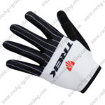 2017 Team TREK Cycling Long Gloves Full Fingers Black White