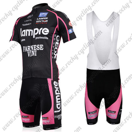 2011 Team Lampre MERIDA Riding Outfit Bicycle Jersey and Padded Bib ... 8578aae9a
