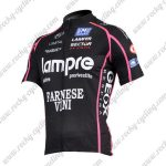 2011 Team Lampre FARNESE VINI Cycling Jersey Maillot Shirt Black Pink