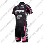 2011 Team Lampre FARNESE VINI Cycling Kit Black Pink