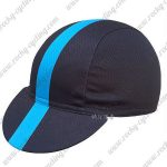 2016 Team Rapha Cycling Cap Hat Black Blue
