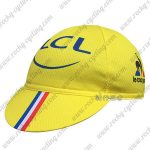 2016 Team Tour de France LCL Cycling Cap Hat Yellow