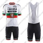 2017 Team BORA hansgrohe Portugal Riding Bib Kit White