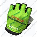 2017 Team Cannondale drapac Cycling Gloves Mitts Half Fingers Green