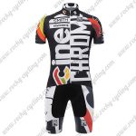 2017 Team Cinelli CHROME Cycling Kit Black White