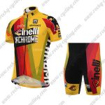 2017 Team Cinelli CHROME Cycling Kit Yellow Red