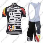 2017 Team Cinelli CHROME Riding Bib Kit Black White