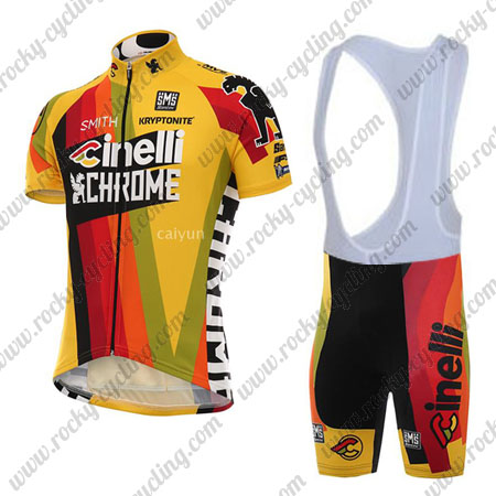 2017 Team Cinelli Pro Cycle Outfit Riding Jersey and Padded Bib ... 91a614217