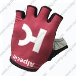 2017 Team KATUSHA Alpecin Cycling Gloves Mitts Half Fingers Red