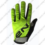 2017 Team NALINI Cycling Full Fingers Gloves Green