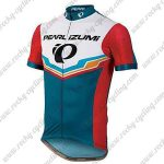 2017 Team PEARL IZUMI Biking Jersey Maillot Shirt White Blue Red