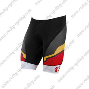 2017 Team PEARL IZUMI Cycle Shorts Bottoms Black Red White