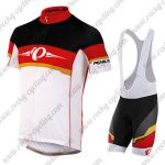 2017 Team PEARL IZUMI Cycling Bib Kit Black Red White