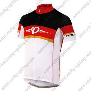2017 Team PEARL IZUMI Cycling Jersey Maillot Shirt Black Red White