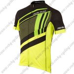 2017 Team PEARL IZUMI Cycling Jersey Maillot Shirt Black Yellow