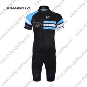 2017 Team PINARELLO Cycling Kit Black Blue