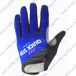 2017 Team QUICK STEP Cycling Full Fingers Gloves Blue Black