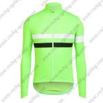 2017 Team Rapha Riding Long Jersey Green