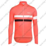 2017 Team Rapha Riding Long Jersey Red