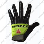 2017 Team TREK Cycling Full Fingers Gloves Black Yellow