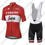 2017 Team TREK Segafredo Austraila Champion Riding Bib Kit Red White