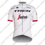 2017 Team TREK Segafredo Cycling Jersey Maillot Shirt White
