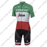 2017 Team TREK Segafredo Italy Champion Cycling Kit Green Red