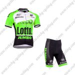 2015 Team LOTTO JUMBO Bicycle Kit Green
