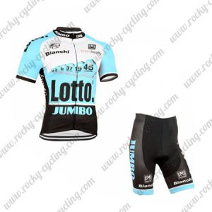 2015 Team LOTTO JUMBO Bike Kit Blue