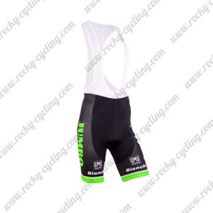 2015 Team LOTTO JUMBO Cycle Bib Shorts Bottoms Black Green